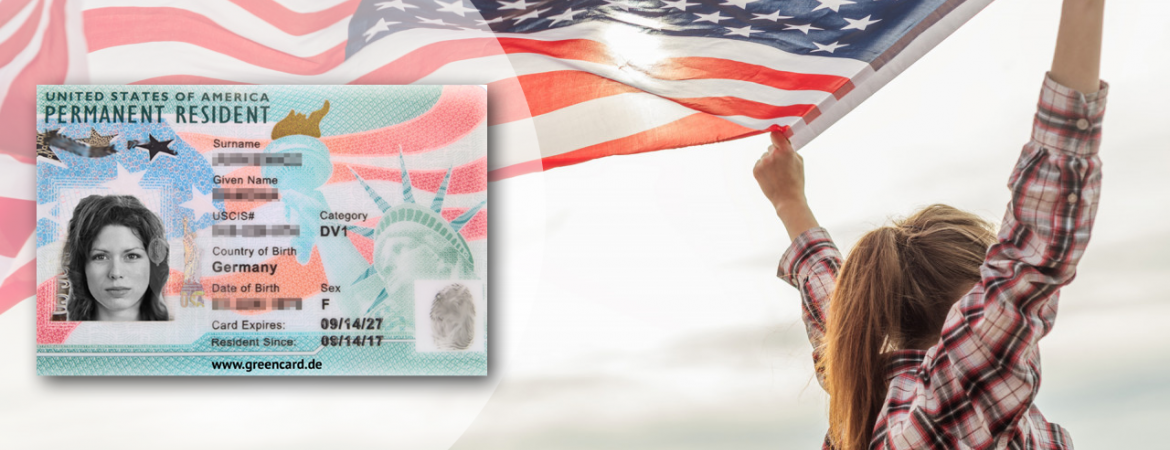 Green Card Header neu